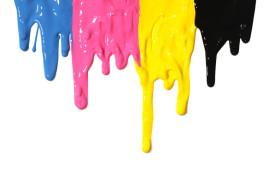 colore, pittura, diversi colori