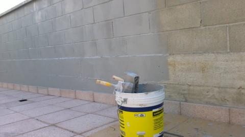 grigio, muro grigio, pittura grigia